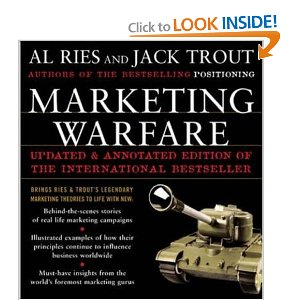 Marketing Warfare av Al Ries og Jack Trout