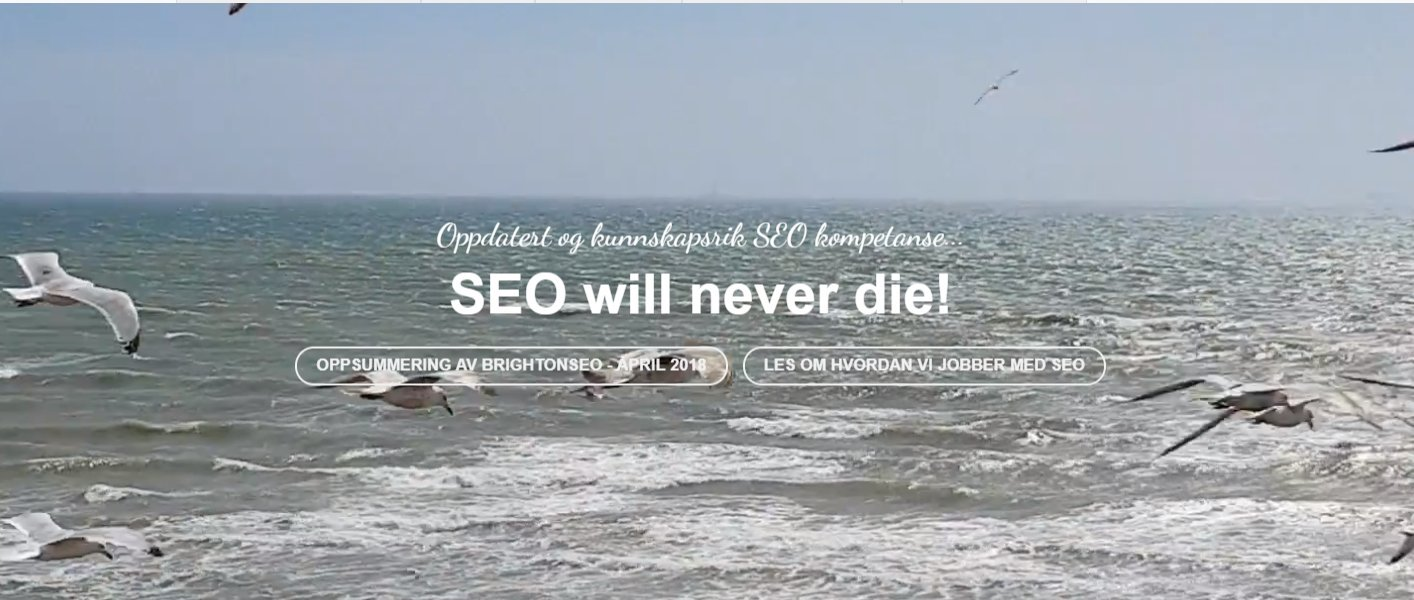 Brighton seo april 2018