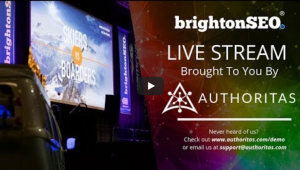 Brighton seo 2019 video livestream