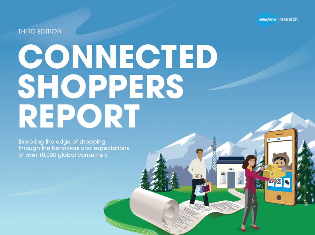 Connected shoppers report 2019 fra Salesforce